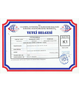 K-1 Authorization License